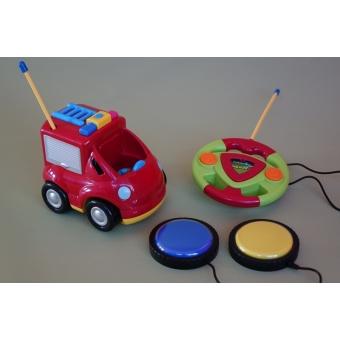 RC brandweerauto tweeknops (afstandsbediening)