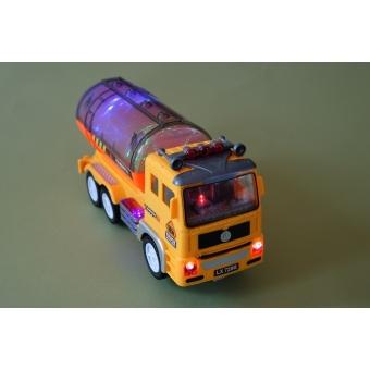 Tankwagen met licht en geluid