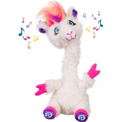 Dansende napraat alpaca