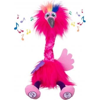 Dansende napraat flamingo