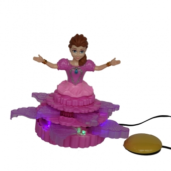Anna frozen met bewegende jurk