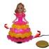 Prinses met draaiende jurk