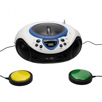 Draagbare radio, CD/USB speler met MP3